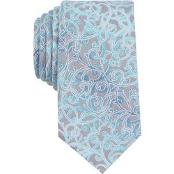 Perry Ellis Mens Village Vine Tie