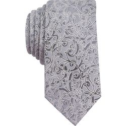 Perry Ellis Mens Village Vine Print Tie