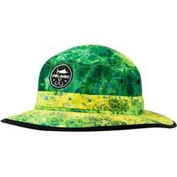 PELAGIC Mens Sunsetter Dorado Hex Bucket Hat