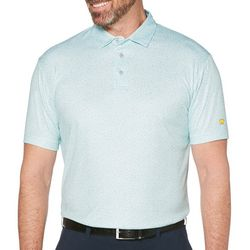 Jack Nicklaus Mens Mini Paisley Polo Shirt