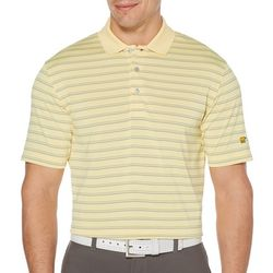 Jack Nicklaus Mens Color Stripe Short Sleeve Polo Shirt