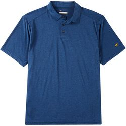 Jack Nicklaus Mens Fine Line Stripe Short Sleeve Polo Shirt