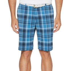 Jack Nicklaus Mens Madras Plaid Golf Shorts