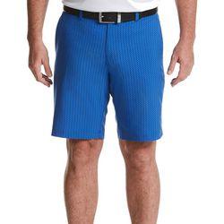Jack Nicklaus Mens Abstract Print Flat Front Golf Shorts