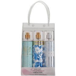 Womens 3-Pc. Body Mist Fragrance Set
