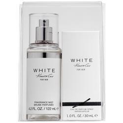 Kenneth Cole Womens White EDP Spray & Fragrance Mist Set