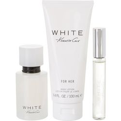 Kenneth Cole White Womens 3-pc. EDT Fragrance Set