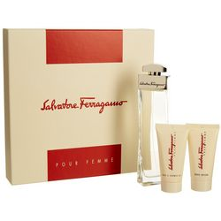 Salvatore Ferragamo Pour Femme Womens 3-pc. Gift Set