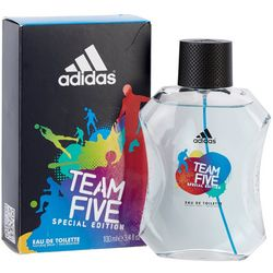 Adidas Mens Team Five Special Edition EDT Spray 3.4 fl. oz.