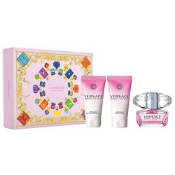Versace Bright Crystal Womens 3-pc. Gift Set