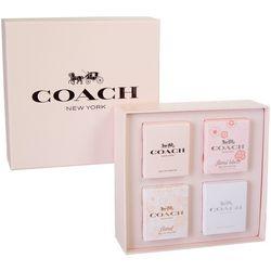 Coach Womens 4 Pc. Perfume Gift Set