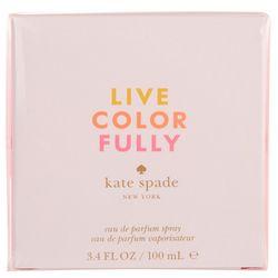 Kate Spade Live Colorfully Womens 3.4 fl. oz. EDP Spray