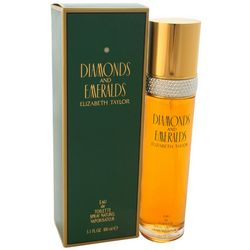 Elizabeth Taylor Diamonds And Emeralds Womens 3.3 fl.