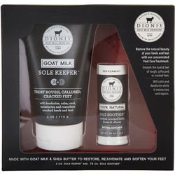 Dionis 2 Pc. Peppermint Goat Milk Foot Care