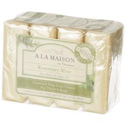 4-pk. Rosemary Mint Hand & Body Bar Soap