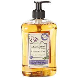 A La Maison Lavender Aloe Hand & Body Liquid Soap