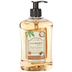 A La Maison Pure Coconut Hand & Body Liquid Soap