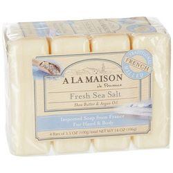 A La Maison 4-pk. Fresh Sea Salt Hand & Body Bar Soap