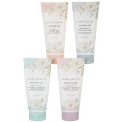 Laura Ashley 4-pc. Floral Scented Shower Gel Set