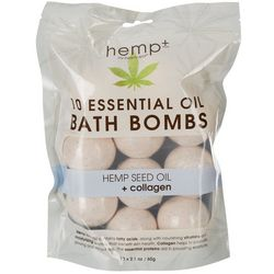 Hemp+ 10-pk. Hemp Seed Oil + Collagen Bath