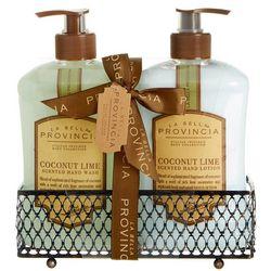 La Bella Provincia Coconut Lime Hand Wash & Lotion Set