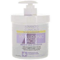 Advanced Clinicals 16 oz Hyaluronic Acid Moisturizer