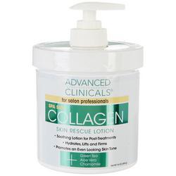 16 oz Collagen Skin Rescue Lotion