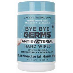 Upper Canada Soap Bye Bye Germs Antibacterial Hand Wipes