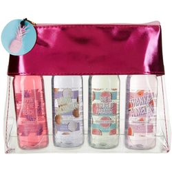 4-pc. Tropical 3-In-1 Body Wash Set