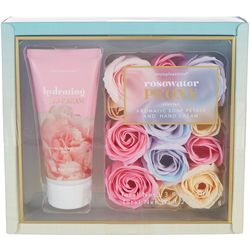 Simple Pleasures Rosewater Peony Petals & Lotion Gift