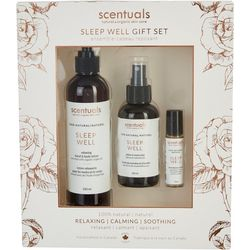 Scentuals 3 pc. Sleep Well Gift Set