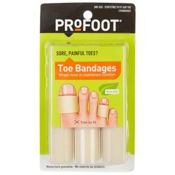 3-Pk. Toe Bandage Kit