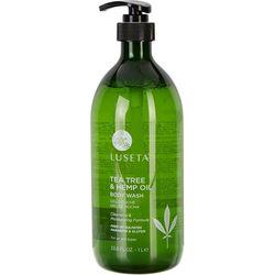 Luseta 33.8 oz Tea Tree Hemp Oil Body Wash