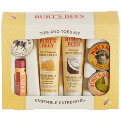 Burt's Bees Tips & Toes 6 Pc. Kit