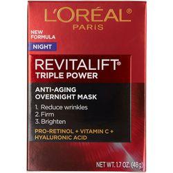 L'Oreal Womens 1.7 oz Revitalift Anti-Aging Night Mask