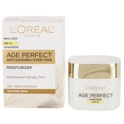 L'Oreal Womens 2.5 oz Age Perfect SPF 15 Moisturizer