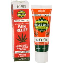 Uncle Bud's 2.5 oz Coconut Hemp Topical Pain Relief