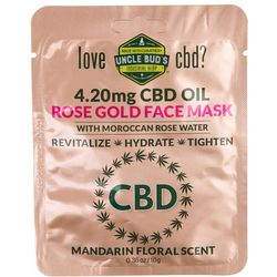 Uncle Bud's CBD Oil Moroccan Rose Water Face Mask