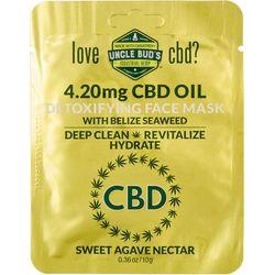 Uncle Bud's CBD Seaweed Detoxifying Agave Face Mask