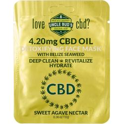 Uncle Bud's CBD Seaweed Detoxifying Agave Face Mask
