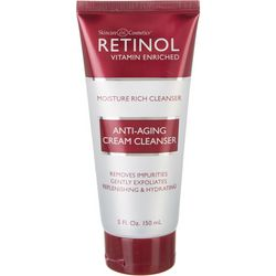 Retinol Vitamin Enriched Anti-Aging Cream Cleanser