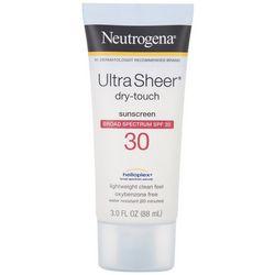Neutrogena 3 oz Ultra Sheer Dry-Touch SPF 30 Sunscreen