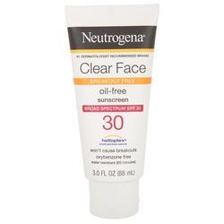 3 oz. Clear Face 30 SPF Sunscreen