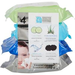 Global Beauty Care 4-Pk. Makeup Cleansing Wipes