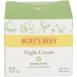 Burt's Bees Sensitive Night Cream 1.8 Oz.
