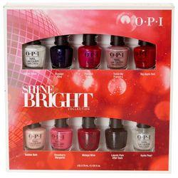 OPI 10-pk. Shine Bright Nail Polish Collection
