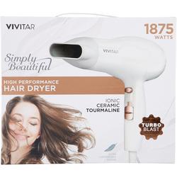 1875W Ionic Ceramic Tourmaline Hair Dryer