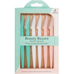 Danielle 6-pc. Disposable Beauty Razor Set