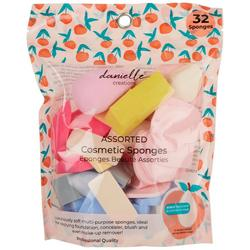 32-pc. Latex-Free Assorted Cosmetic Sponges
