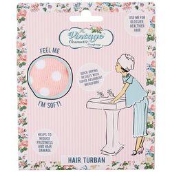 Vintage Cosmetic Company Polka Dot Hair Turban